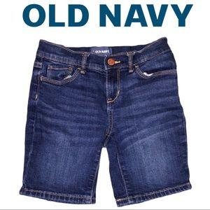 Old Navy Denim Bermuda Shorts size 8